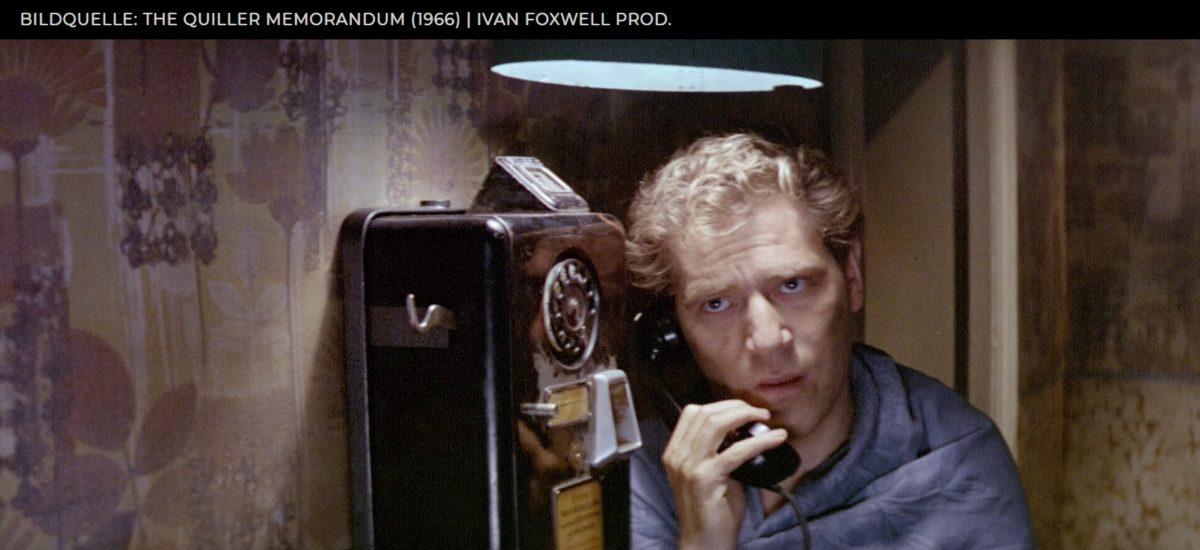 The Quiller Memorandum (1966), Film-Review   Filmkuratorium