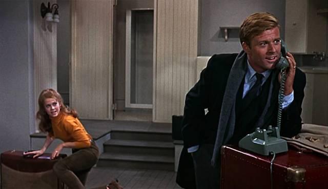 Jane Fonda und Robert Redford als Ehepaar im neuen Appartement, Copyright: Paramount