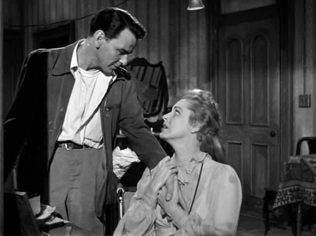 Frank Sinatra und Eleanor Parker als Ehepaar in der kleinen Mietswohnung, Copyright: Carlyle Productions