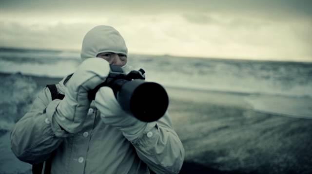 Michael Gambon als Polarfotograf