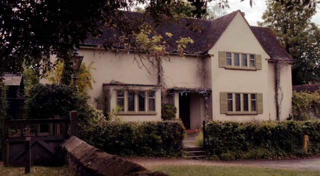 das Wohnhaus des Protagonisten Sidney Chambers