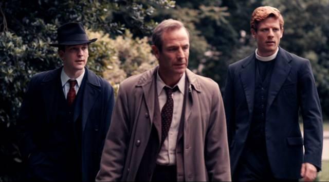 Geordie und Sidney unterwegs bei ihren Ermittlungen