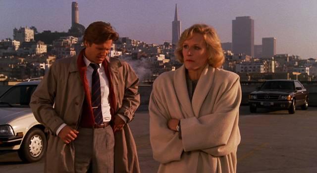 Jeff Bridges und Glenn Close in San Francisco, Copyright: Columbia