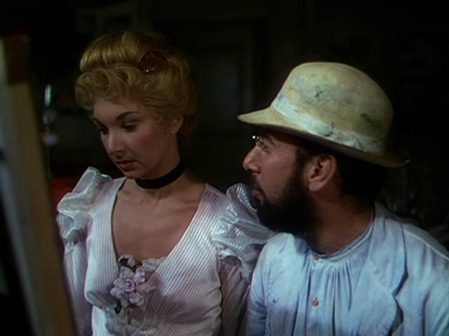 Toulouse-Lautrec mit einer seiner Frauen