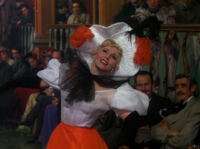 Zsa Zsa Gabor als französische Sängerin Jane Avril, Copyright: Romulus Films