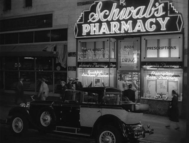 der Drogeriemarkt und Prominentreffpunkt Schwabs's Pharmacy