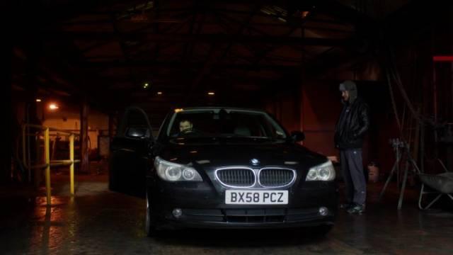 Vince holt den 3er BMW ab, Copyright: Acorn