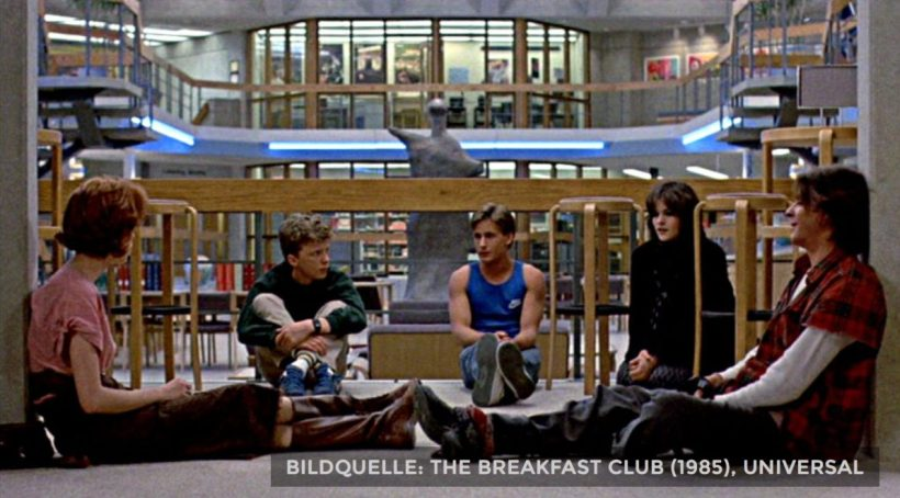 Szene aus 'The Breakfast Club (1985)', Copyright: Universal