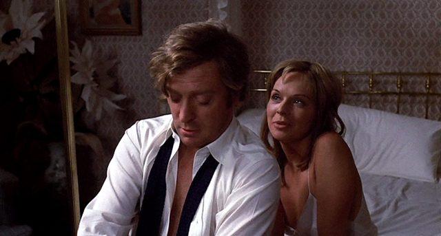 Robert (Michael Caine) und Stella (Susannah York) im Bett, Copyright: Columbia Pictures