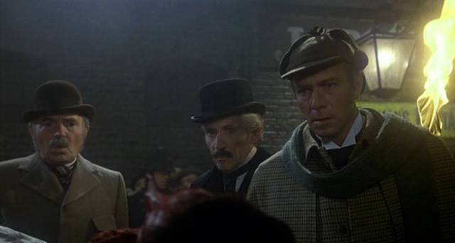 James Mason, Frank Finlay und Christopher Plummer