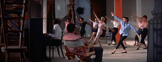 Judy Garland als Esther Blodgett bei Tanzproben