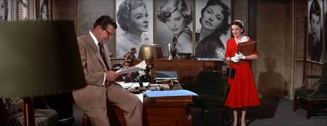Jack Carson und Judy Garland im PR-Büro, Copyright: Warner Bros.
