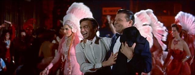 James Mason als betrunkener Schauspieler Norman Maine hinter der Bühne, Copyright: Warner Bros.