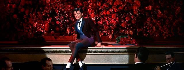 Judy Garland auf der Bühne