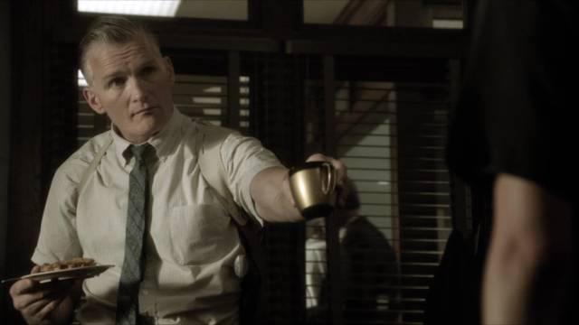 Chance Kelly als chauvinistischer Mordkommissar, Copyright: Tomorrow ITV Studios