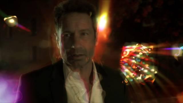 David Duchovny als Sam Hodiak unter LSD-Einfluss