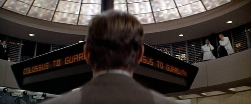 Szene aus 'Colossus (1970)', Copyright: Universal