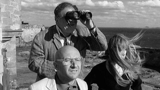 Dick (Lionel Stander), George (Donald Pleasence) und Teresa (Françoise Dorléac), Copyright: Compton-Tekli Film