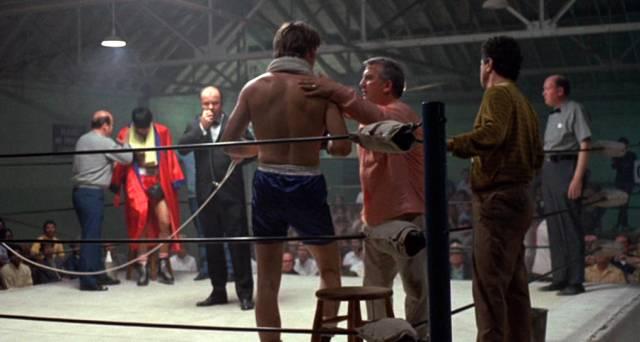 Boxer vor dem Kampf im Ring