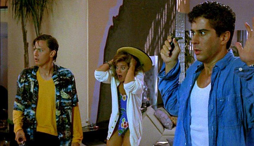 Szene aus 'Immer Ärger mit Bernie (1989)', Copyright: Gladden Entertainment