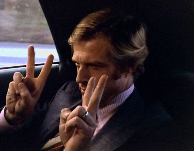 Robert Redford als Bill McKay in der Limousine