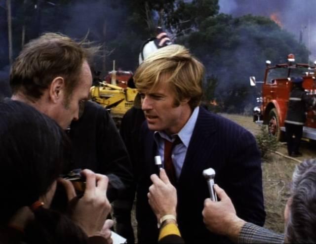 Robert Redford als Bill McKay im Interview mit Reportern, Copyright: Warner Bros.