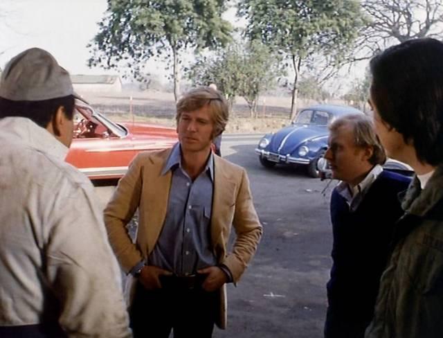 Robert Redford als Bill McKay im Straßenwahlkampf