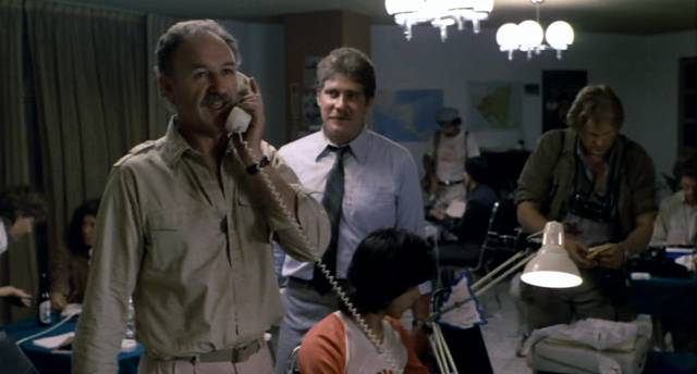 Gene Hackman als Journalist Alex Grazier