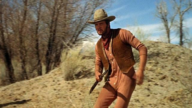 Lee Majors als Cowboy in Unterhose