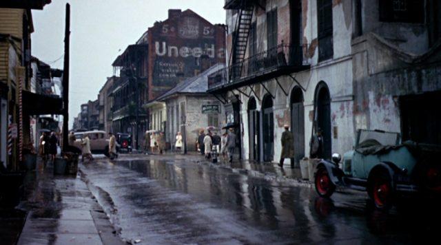 verregnete Straße in New Orleans, Copyright: Paramount