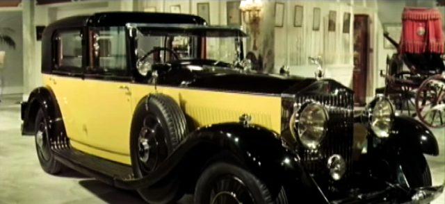 "gelber Rolls-Royce ""Phantom II"", Copyright: MGM"