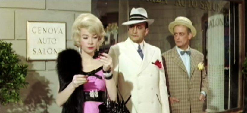 Szene aus 'Der gelbe Rolls-Royce (1964)', Copyright: MGM