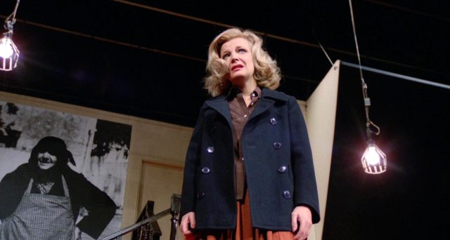 Gena Rowlands als Myrtle Gordon auf der Theaterbühne, Copyright: Faces Distribution Comp.