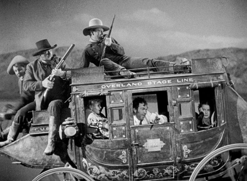 Szene aus 'Stagecoach (1939)', Copyright: Walter Wanger Prod.
