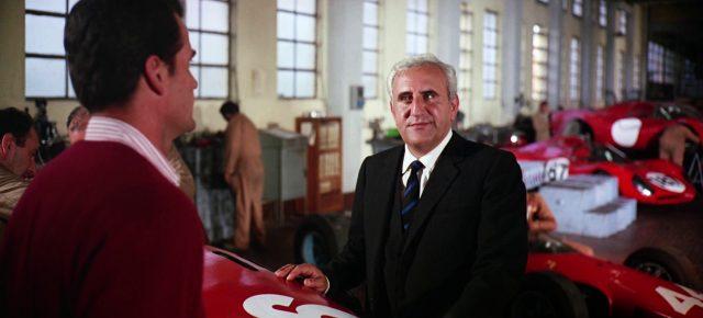 Adolfo Celi als Agostini Manetta in seiner Autofabrik, Copyright: Turner Entertainment