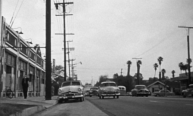 Blick in eine Straße von Los Angeles