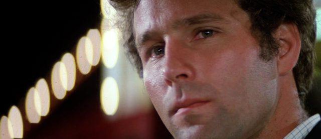 Close-up von Timothy Bottoms als der unbekannte Erpresser