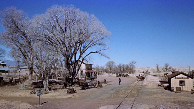 durch Dodge City verlaufende Bahnstrecke