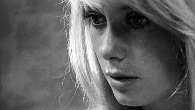 Close-up von Catherine Deneuve als Carol Ledoux