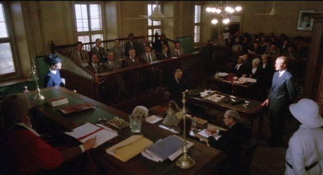Blick in den Gerichtssaal, Copyright: Sunley Prod. Ltd.