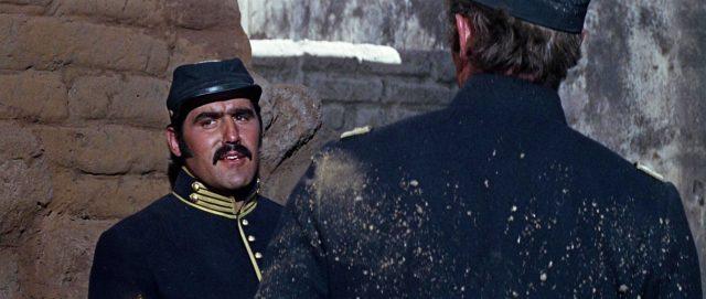 Mario Adorf als US-Soldat.