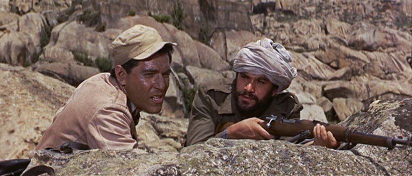 Szene aus 'Lost Command(1966)', Copyright: Columbia Pictures