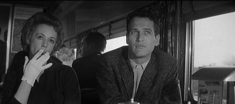 Szene aus 'The Hustler(1961)', Copyright: Rossen Enterprises, Twentieth Century Fox