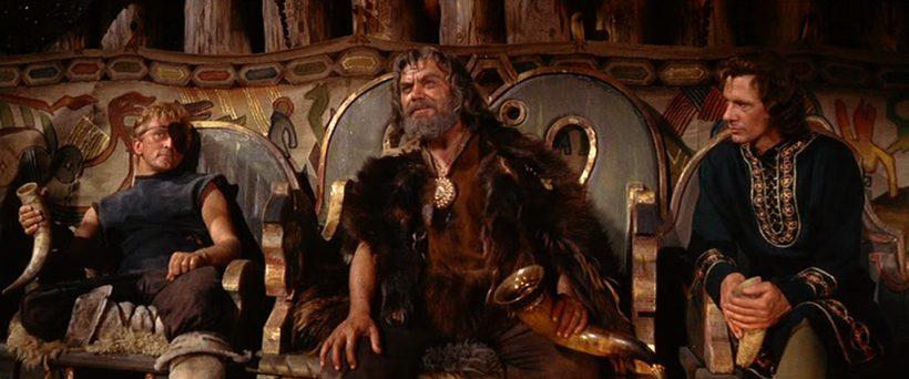 Szene aus 'Die Wikinger (1958)', Copyright: Brynaprod