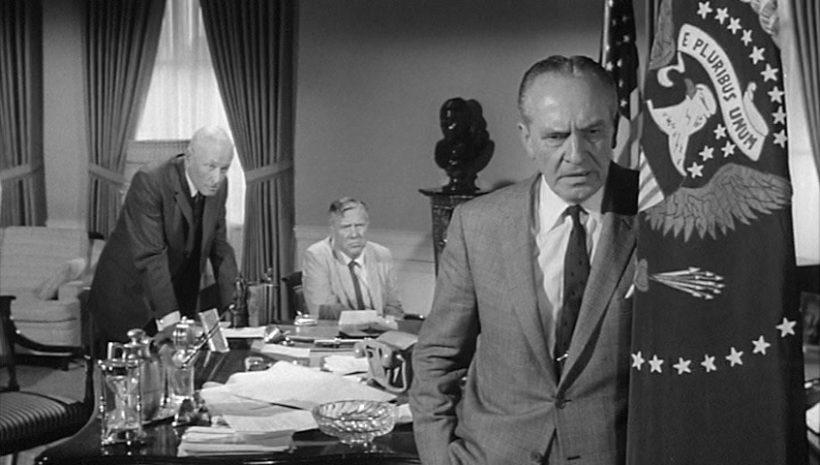 Szene aus 'Sieben Tage im Mai(1964)', Copyright: Seven Arts Prod., A&RProd.