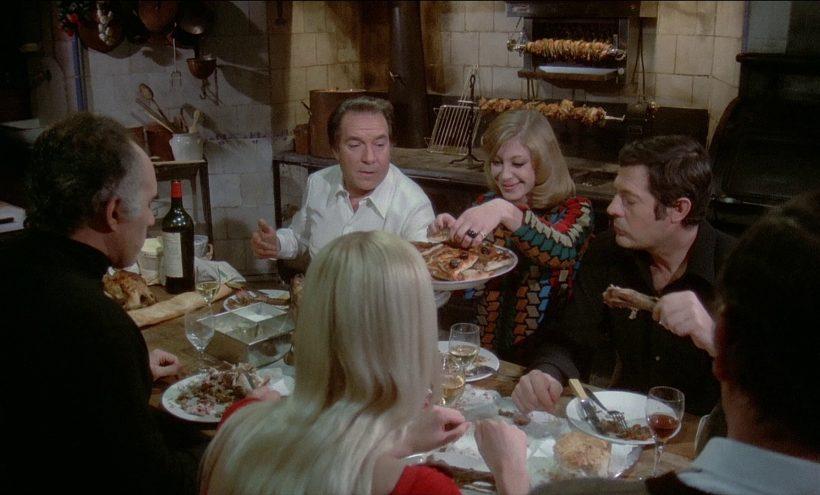 Szene aus 'Das große Fressen(1973)', Copyright: Mara Films, Les Films66, Capitolina Produzzioni Cinématografiche, Studiocanal