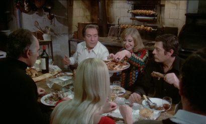 Szene aus 'Das große Fressen(1973)'