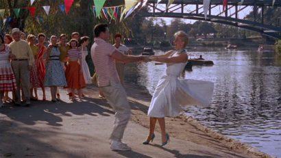 Szene aus 'Picknick im Pyjama(1957)'