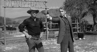 Szene aus 'Der Mann, der Liberty Valance erschoß(1962)'