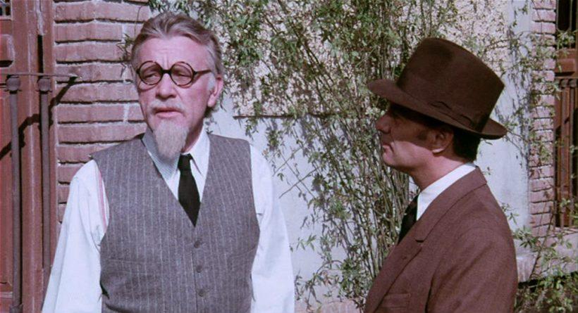 Szene aus 'Das Mädchen und der Mörder –Die Ermordung Trotzkis(1972)', Copyright: Josef Shaftel Prod.